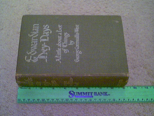"Cornwallis-West, G. ""Edwardian Hey-Days"" 1930 Book Signed Autograph Illustrated"