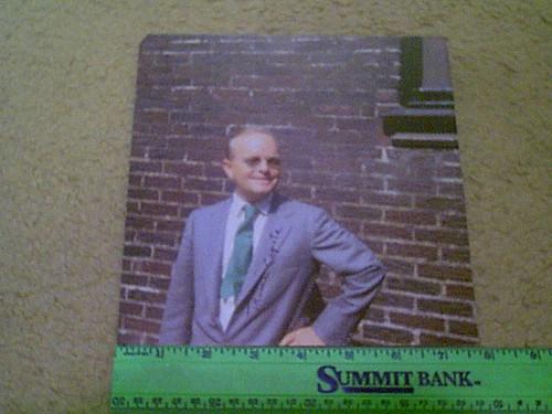 Capote, Truman Color Candid Photo Signed Autograph