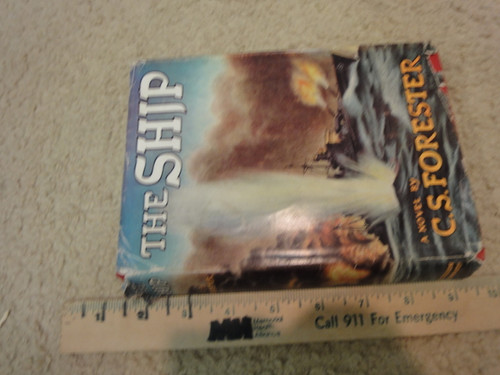 """Forester C. S. Cecil Scott """"The Ship"""" 1943 Book Signed Autograph"""