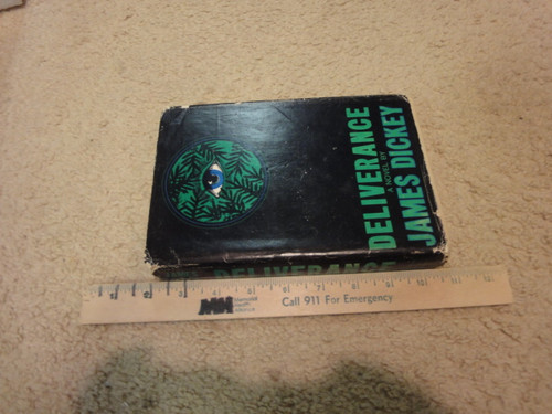 """Dickey, James """"Deliverance"""" 1970 Book Signed Autograph"""