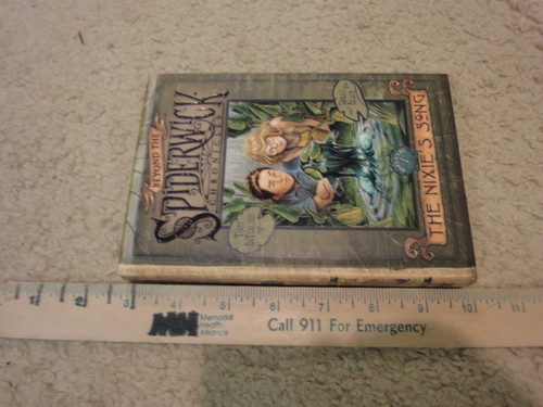 """DiTerlizzi, Tony and Holly Black """"Beyond The Spiderwick Chronicles The Nixie's Song"""" 2007 Book Signed Autograph Illustrated"""