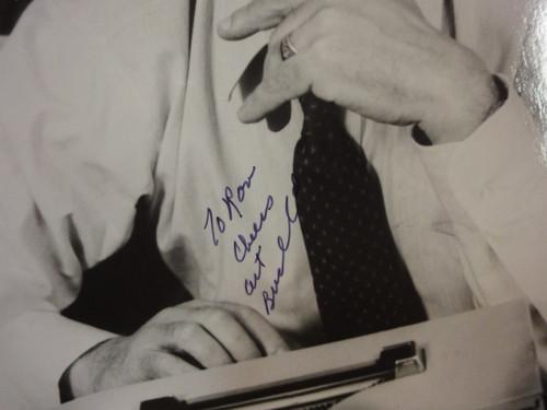 Buchwald, Art Photo Signed Autograph