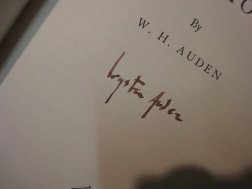 """Auden, W H Wystan """"Homage To Clio"""" 1960 Book Signed Autograph"""