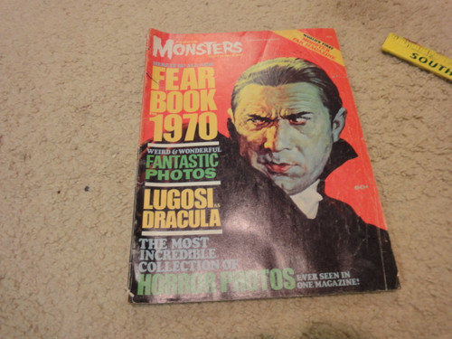 """Ackerman, Forrest """"Famous Monsters Of Filmland"""" 1970 Magazine Signed Autograph"""