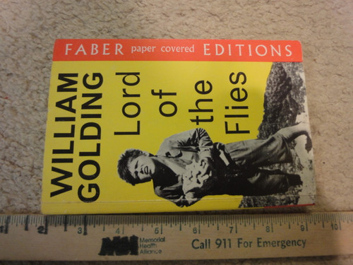 """Golding, William """"Lord Of The Flies"""" 1973 Book Signed Autograph"""