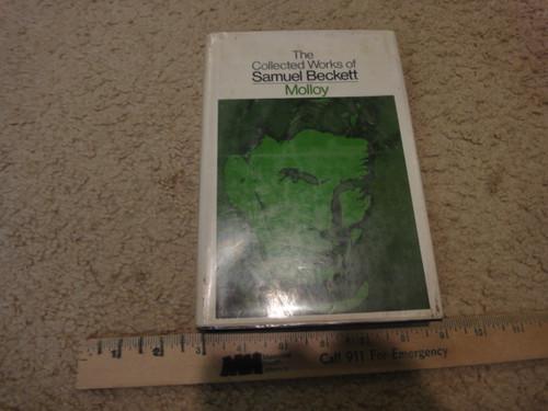 """Beckett, Samuel """"Molloy"""" 1970 Book Signed Autograph"""