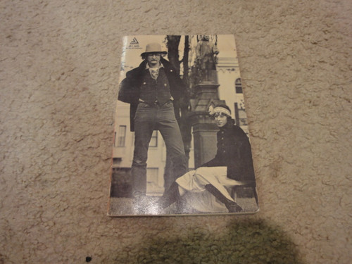 """Brautigan, Richard """"Trout Fishing In America"""" 1967 Book Signed Autograph"""