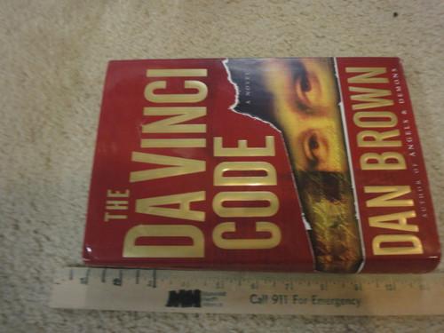 "Brown, Dan ""The Da Vinci Code"" 2003 Book Signed Autograph"