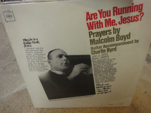 """Boyd, Malcolm """"Are Your Running With Me Jesus?"""" 1965 Sealed LP Jazz Signed Autograph"""