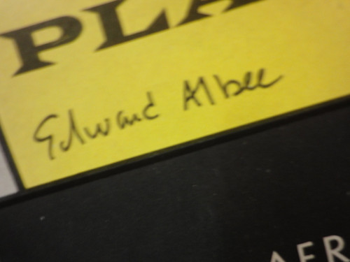 """Albee, Edward """"Who's Afraid Of Virginia Woolf?"""" 1964 Playbill Signed Autograph"""