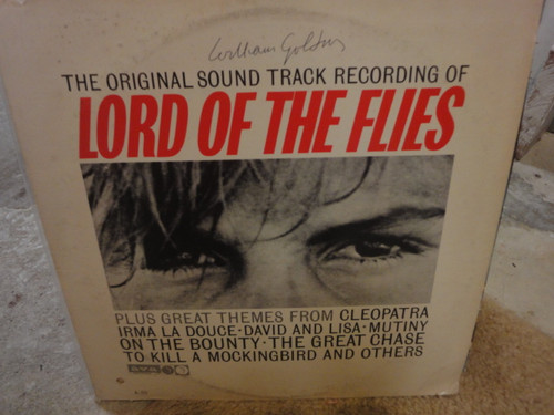 """Golding, William """"Lord Of The Flies"""" Sound Track LP 1963 Signed Autograph"""