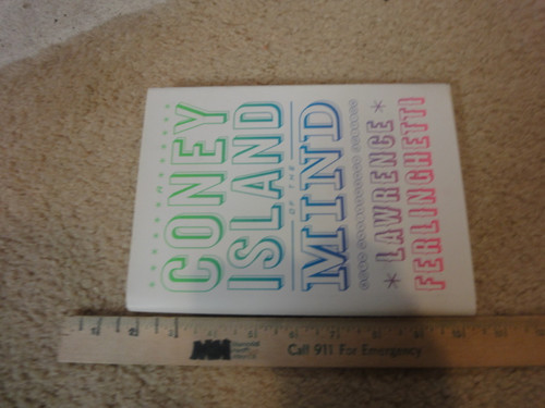 """Ferlinghetti, Lawrence """"Coney Island Of The Mind"""" 2008 Book Signed Autograph With CD With Photo"""