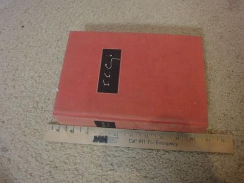 """Cummings Cummings Cummings, E. E. Edward Estlin Cummings """"Poems 1923-1954"""" Book Signed Autograph"""
