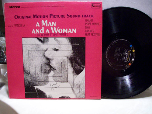 Aimee, Anouk LP Signed Autograph A Man And A Woman 1966
