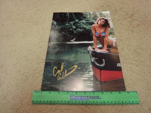 Alt, Carol Color Photo Signed Autograph