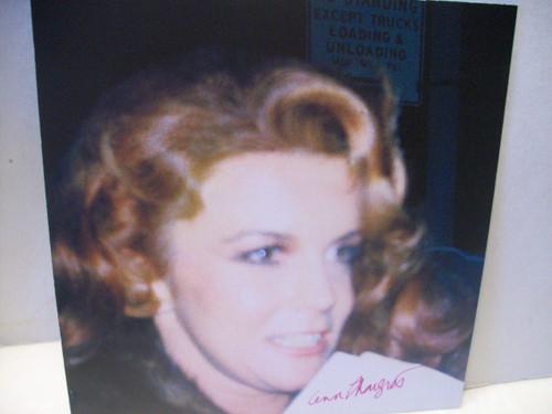 Ann-Margret Photo Signed Autograph Viva Las Vegas Bye Bye Birdie Carnal Knowledge Tommy Grumpy Old Men