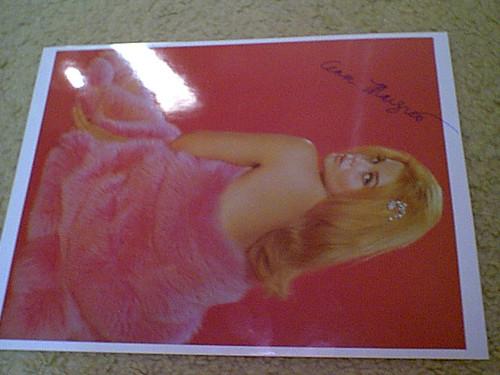 Ann-Margret Photo Signed Autograph Viva Las Vegas Tommy