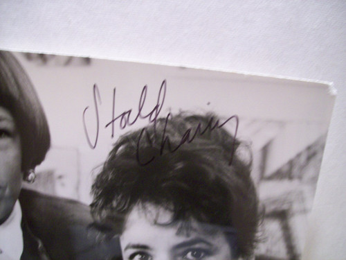Channing, Stockard Photo Signed Autograph The Room Upstairs Cbs 1987