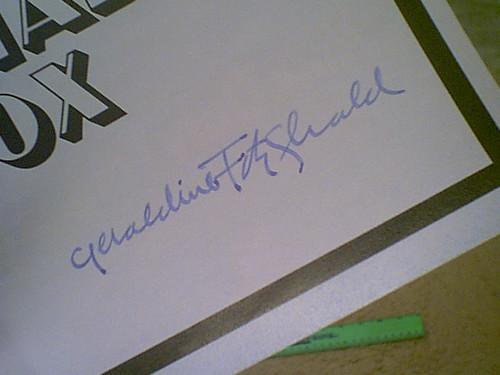 "Fitzgerald, Geraldine & Mandy Patinkin ""The Shadow Box"" 1977 Playbill Signed Autograph"