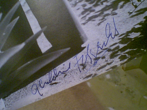 Fitzgerald, Geraldine Early Photo Signed Autograph