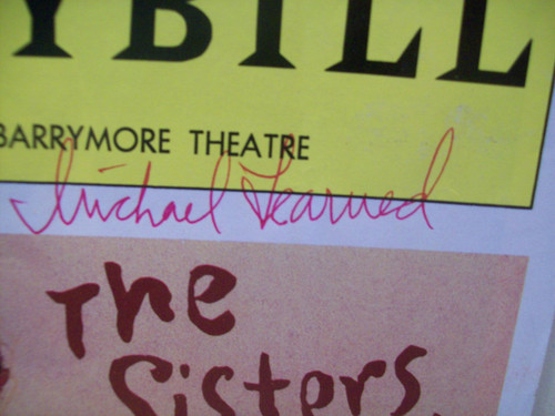 Learned, Michael Hal Linden Playbill Signed Autograph The Sisters Rosensweig 1992