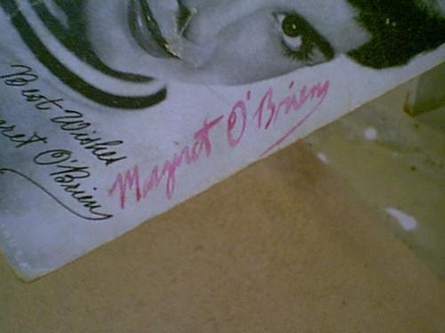 O'Brien, Margaret 1950'S Photo Signed Autograph