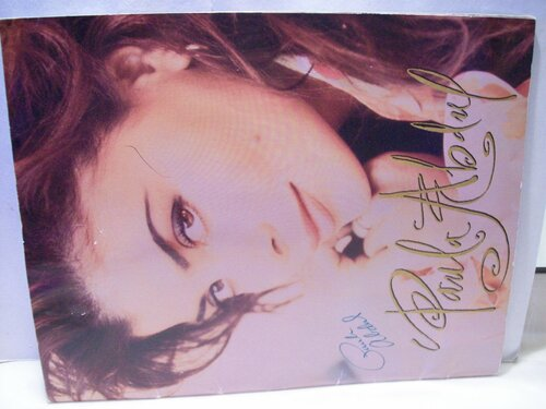 Abdul, Paula Tour Program Signed Autograph 1991