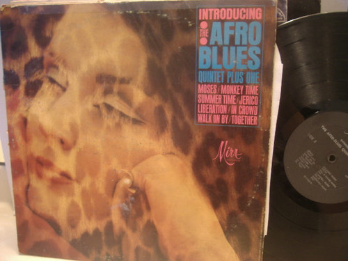 Afro Blues Quintet Plus One-Introducing LP Signed