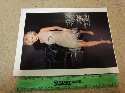Aguilera, Christina Color Photo Signed Autograph