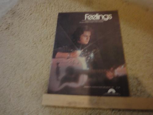 "Albert, Morris ""Feelings"" 1975 Sheet Music Signed Autograph"