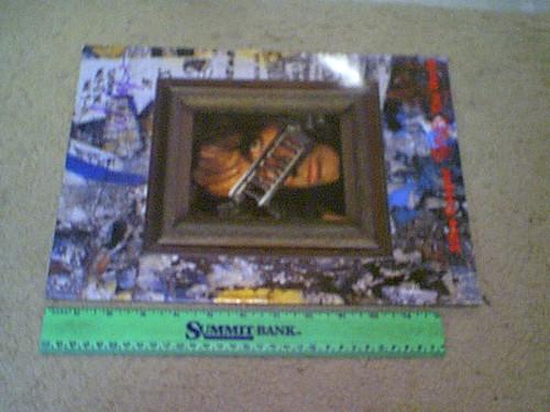 "Alice Cooper 1989 Concert Program ""Alice Cooper Trashes The World"" Color Photos"