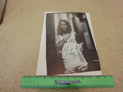 Alice Cooper Early Photo Signed Autograph