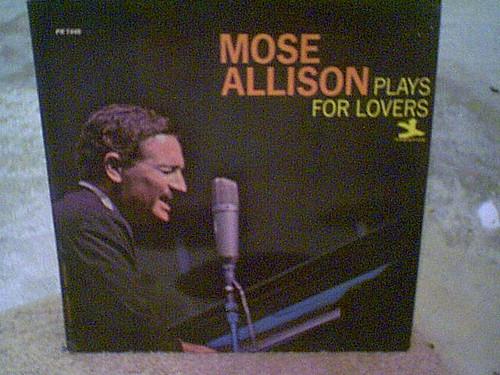 "Allison, Mose ""Plays For Lovers"" 1966 Jazz LP Signed Autograph Prestige"