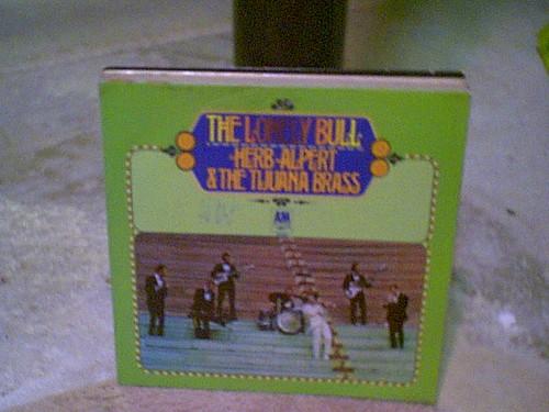 "Alpert, Herb ""The Lonely Bull"" Import LP Signed Autograph Tijuana Brass"