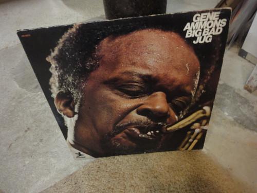 "Ammons, Gene ""Big Bad Jug"" 1973 Jazz LP Signed Autograph Prestige"