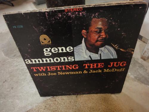 "Ammons, Gene ""Twistin The Jug"" 1962 Jazz LP Signed Autograph Prestige"