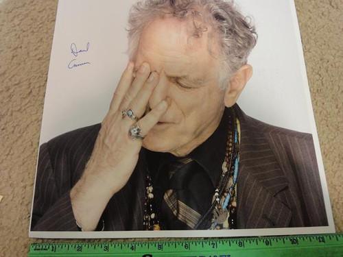 Amram, David Color Photo Signed Autograph Candid Jazz