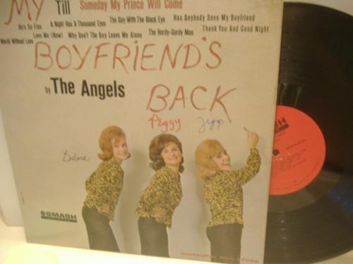 """Angels """"My Boyfriend's"""" Back LP Signed Rock N Roll """"Till"""""""