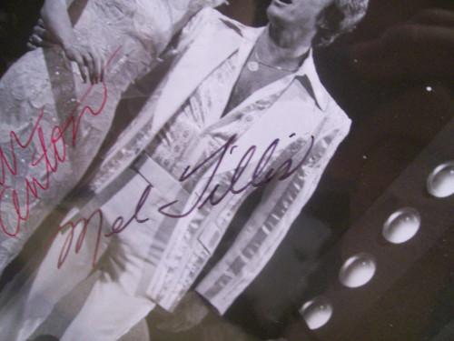 Anton, Susan Mel Tillis Photo Signed Autograph Mel And Susan Together Abc 1978