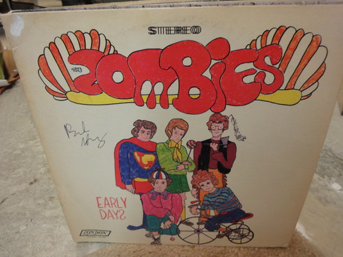 """Argent, Rod """"Early Days"""" 1969 LP Signed Autograph Zombies """"Tell Her No"""""""