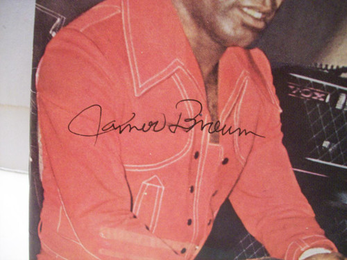 Brown, James Magazine Jet Signed Autograph 1971