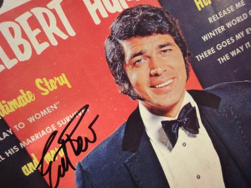 Humperdinck, Engelbert TV Record Superstars Magazine 1970 Signed Autograph Color Cover Photo