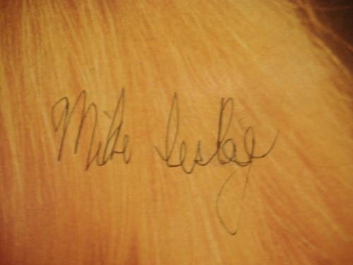 Lesley, Mike LP Signed Autograph Sealed Rock