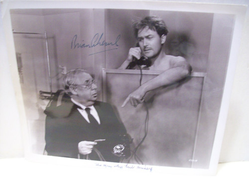 Aherne, Brian Photo Signed Autograph The Man Who Lost Himself 1941