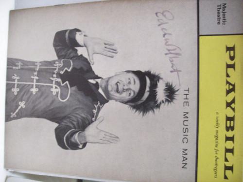 Albert, Eddie Playbill Signed Autograph The Music Man 1960