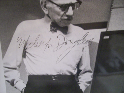 Alda, Alan Melvyn Douglas Photo Signed Autograph