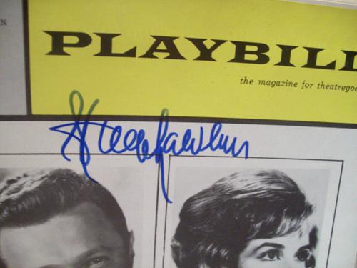 Alda, Robert Steve Lawrence Playbill Signed Autograph What Makes Sammy Run? Jan 1964