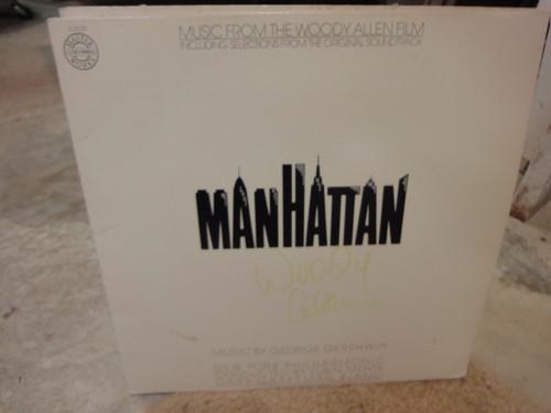 "Allen, Woody ""Manhattan"" 1979 LP Signed Autograph Photos"
