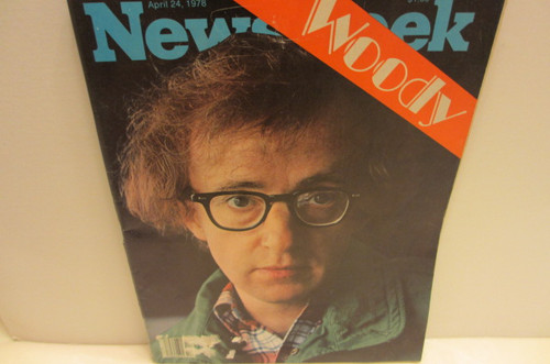 Allen, Woody Newsweek Magazine 1978 Signed Autographed
