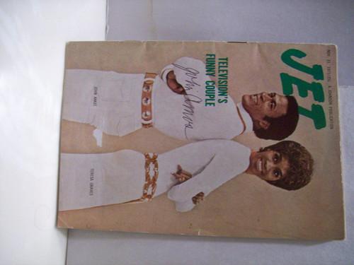 Amos, John Magazine Jet Signed Autograph 1971